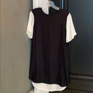 ATM BLACK and CREAM DRESS SIZE XS
